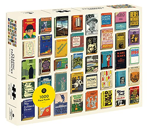 Princeton Architectural Press Classic Paperbacks 1,000 Piece Jigsaw Puzzle