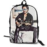 SkyeDana Lenny Kravitz Unisex Classic Backpack Men's and Women's College School Bag Travel Bag