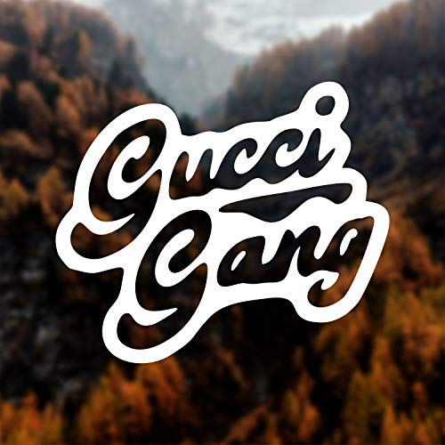 Gucci gang decal Lil pump decal Rapper decal Gucci gang sticker Hip hop sticker Hip hop decal Laptop decal Car decal Wall decal Tablet decal