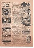 Puss'N Boots Cat Food Scotch Cellophane Tape Funsten's Pecans Walnuts Almonds 1952 Vintage Antique Advertisement