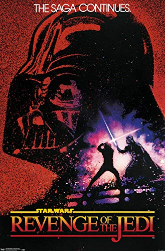 """Trends International Revenge of The Jedi One Sheet Collector's Edition Wall Poster 24"""" X 36"""""""