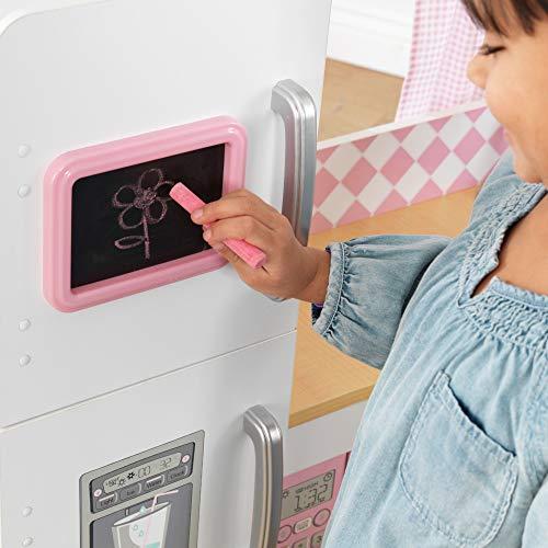 KidKraft 53185 Grand Gourmet Eck-Spielküche, rosa & weiß - 4