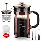 Best French Presses - Upgraded French Press Coffee Maker Stainless Steel 34 Review