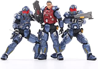 HiPlay JoyToy 1/18 Scale Science-Fiction Action Figures Full Set-Battle for The Stars Series-Northern Union Government 03s...