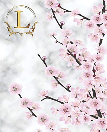 L: Letter A to Z: 2021 Daily Planner: Daily Planner Notebook Diary - One Page Per Day - Floral Theme Interior - Undated 365 Days to Plan - 377 Pages - ... - An Awesome Gift for Someone You Love!