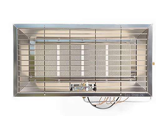 6,5 kW Gas Infrarotheizung mit Wandhalterung/Camping Gasheizung Infarot Gasheizer Wärmestrahler (Gasofen, Campingheizung, Heizung, Werkstatt Garage, Terrasse) Made IN Germany