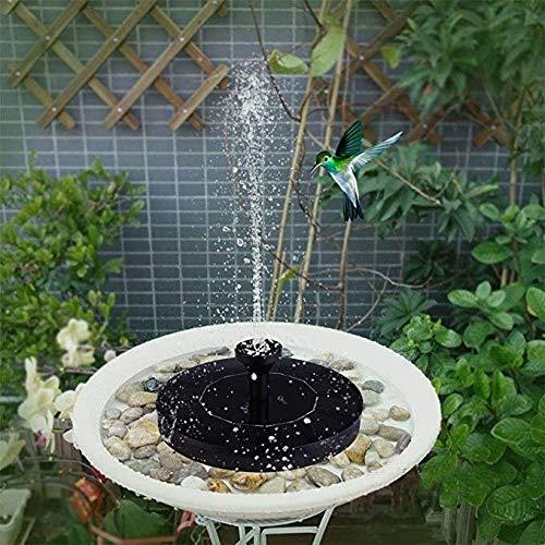 JF Gartenteich Wasserbrunnen Outdoor Solar Springbrunnen hängend beleuchtet Brunnen