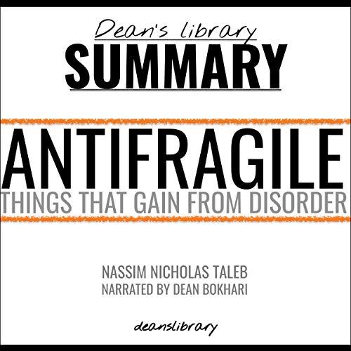 Book Summary: Antifragile by Nassim Nicholas Taleb audiobook cover art