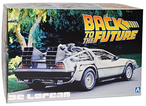 Aoshima Delorean Back to The Future Kit Bausatz 1/24 Modell Auto Modell Auto