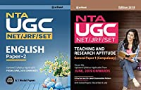 COMBO PACK OF UGC NET ENGLISH LITRATURE PAPER 2 WITH UGC NET JRF SLET General Paper-1 Teaching and Research Aptitude