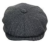 Herrenmütze Tweed Design Peaky Blinders Stil Kariert Rabatt Preis Angebot