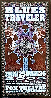 blues traveler concert poster