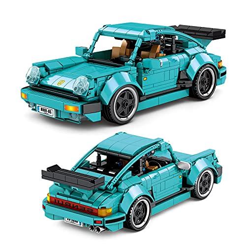Legxaomi Coche de juguete para niños, Urban High Tech Pull Back Car Toy Building Bloques, Creadores de coches creativos, Regalos de juguete para niños
