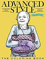 Advanced Style coloring book for seniors