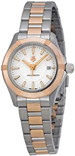 tag heuer aquaracer womens rose gold