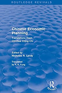 Chinese Economic Planning: Translations from Chi-Hua Ching-Chi