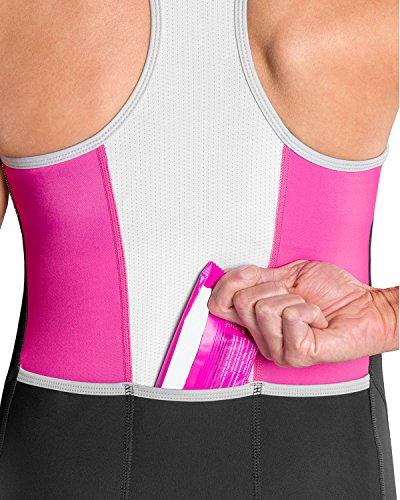 SLS3 Triathlon Einteiler Damen   FRT Trisuit   2 Taschen   Womens Trisuit   Triathlon-Anzug für Damen   Frauen Tri Suit - 5