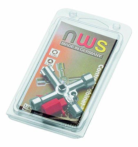 NWS 2005-1-SB Llave para armarios de Control, Negro