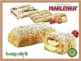 Kleingebäck aus Blätterteig mit Cremefüllung 'Marlenka Napoleonki'