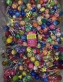 Relleno de Piñata,30 Piezas Pelotas de Rebote Surtido Colorido 30mm Bouncy Balls Pelota de Goma Party Bag Filler para Niños Cumpleaños Y Fiestas Navideñas