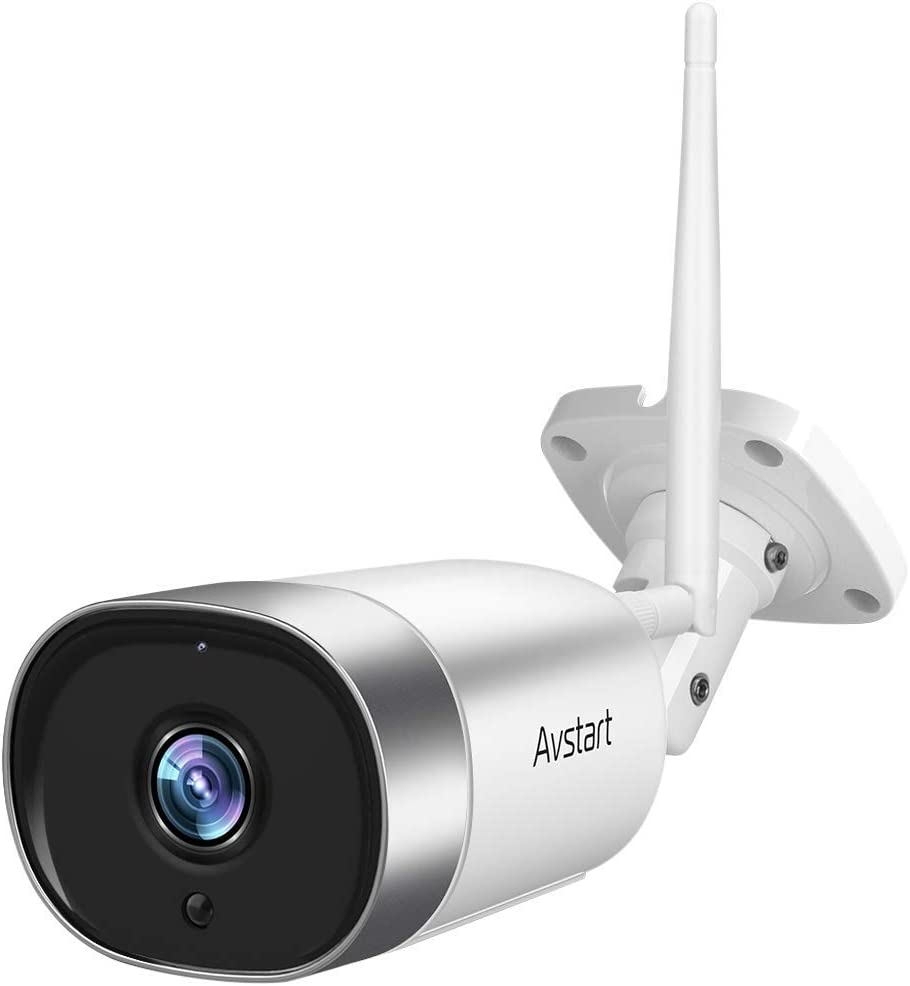 Outdoor Security Camera - 1080P 百貨店 Bullet WiFi Cameras 売り出し Surveillance