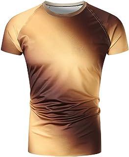 花千束 メンズ 半袖 tシャツ ファション カッコイイ トップス 夏 カットソー ダンス スポーツシャツ オシャレ 大きいサイズ 夏服
