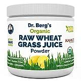 Dr. Berg's Organic Raw Wheat Grass Juice Powder with KamutTM - Natural Lemon...