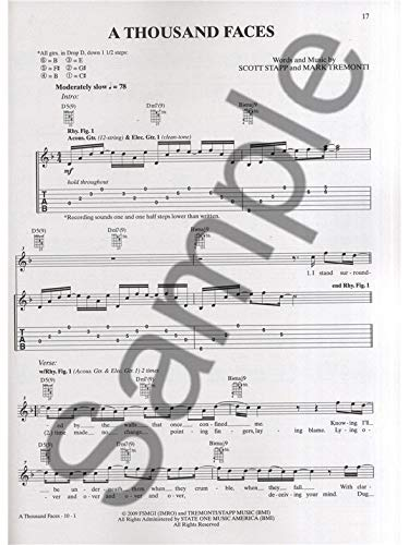 Creed: Full Circle. Partituras para Guitarra, Acorde de Guitarra ...