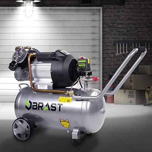 BRAST Druckluft Druckluft Kompressor 100l 3 Modelle...