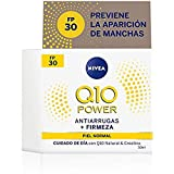 Nivea Q10 Power Antiarrugas Cuidado de Día Triple Defensa FP30, Piel Normal, 50ml