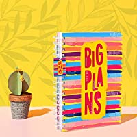 Doodle Big Plans Planner Diary | 266 Pages | Yearly Planner | 12 Monthly Planner Pages | 18 Activity Pages | 16 Notecards and Quotecards
