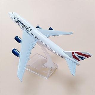 16CM航空機ブリティッシュエアウェイズワンワールドボーイングB747合金ダイキャストメタルプレーンモデル