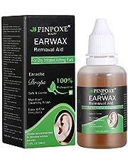Limpiador de oídos, eliminador de cera, productos de cerumen para los oídos, contra la obstrucción en el canal auditivo, limpieza suave y suave, para niños y adultos