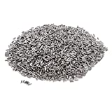 IPOTCH 450g Polishing Beads, Burnishing Ball, Stainless Steel Tumbling Media Balls Jewelry Polishing Accessory - cylindrical shape 2x4mm