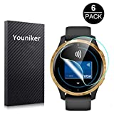 Youniker 6 Pack for Garmin Venu Screen Protector Film for Garmin Venu GPS Smartwatch Screen Protector Foils...