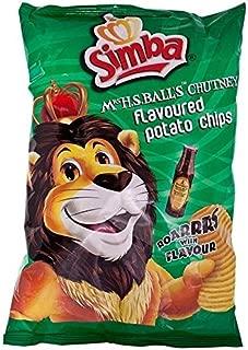 Simba Mrs Balls Chutney Flavoured Potato Chips 125g - Pack of 2