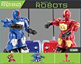 Kids Tech Robots, Lights Up, Battles Opposite Robot, Easy to Control & Small Enough to Carry, Suitable for Ages 6+, Remote Controlled Robots, Great Gift Idea