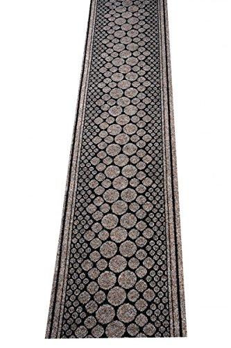 havatex Schmutzfang Läufer Stone - und schadstoffgeprüft   pflegeleicht schmutzresistent robust und strapazierfähig   Flur Diele Eingang Küche Küchenmatte, Farbe:Braun, Größe:67 x 200 cm