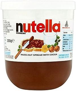 Nutella Hazelnut Chocolate spread 200g jar