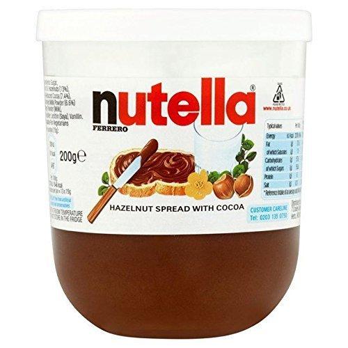 Nutella Haselnuss Schokoladenaufstrich 200G