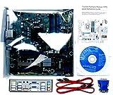 Intel Desktop Board BLKDQ77MK - Media Series - Motherboard - Micro ATX - LGA1155 Socket - Q77