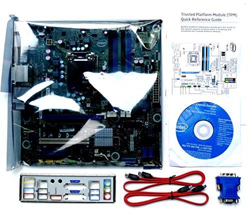 Intel Executive DQ77MK Mainboard Sockel 1155 (Intel Q77, 4X DDR3 Speicher, Matx, PCI-e)