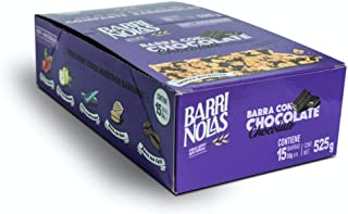 Barras nutritivas de avena con Chocolate 100% natural (15 pz)