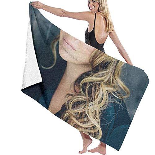 Edmun Helene Segara DIY Toallas Toalla de baño Baño Piscina Yoga Pilates Picnic Poliéster de Secado rápido 80x130cm