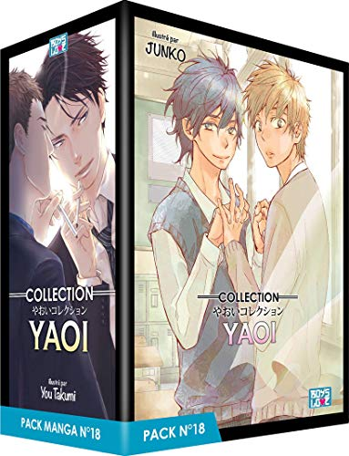 Boy's Love Collection - Pack n°18 - Manga Yaoi (5 tomes)