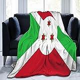 Flanelldecke mit der Flagge von Bur&i, flauschig, bequem, warm, leicht, weich, Überwurf für Sofa, Couch, Schlafzimmer