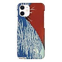 iPhone12mini iPhoneケース ハードケース [薄型/耐熱/全面印刷] 凱風快晴 アイフォンケース スマホケース 携帯電話用ケース CollaBorn