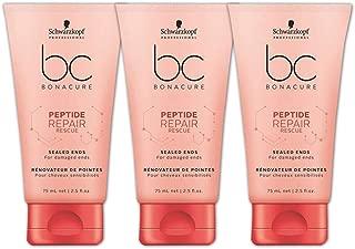 Schwarzkopf BC Peptide Repair Sealed Ends Serum Puntas Dañadas 150 ml Lote 3 ud