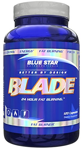 Blue Star BLADE Fat Burner for Men: Strongest Metabolism Booster Weight Loss Supplement and Energy Pills to Support Fast Weight Loss and Appetite Suppression with Acetyl L Carnitine, 120 Diet Pills