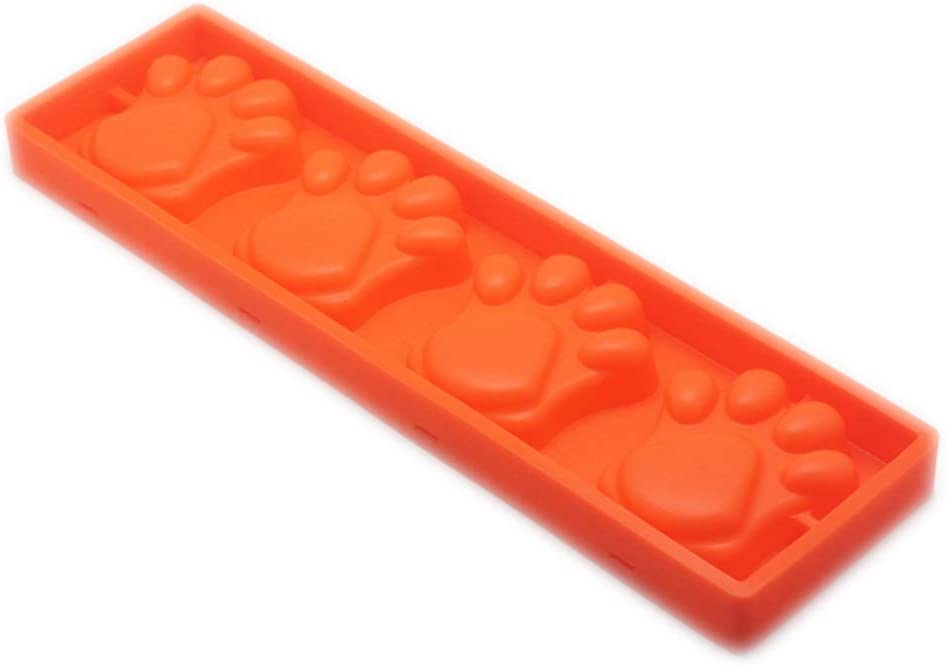 Ice Box Fashionable cube mould Popsicle 2 ice silicone 67% OFF of fixed price bear's 4 with paw